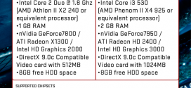 PC Spec Requirements