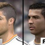 PES 15 vs FIFA 15 Face Comparison
