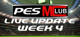 Live Update Week 4