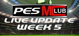 Live Update Week 5