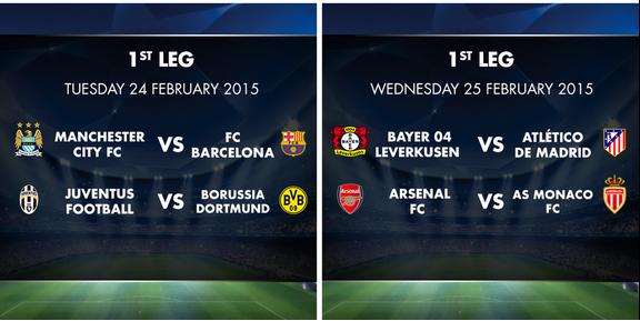 UEFA Champions League STARS Week 2: