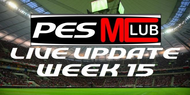 Live Update - Week 15 Cover