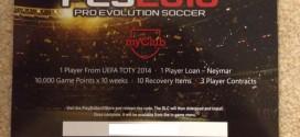 PES 2016 myClub Giveaway