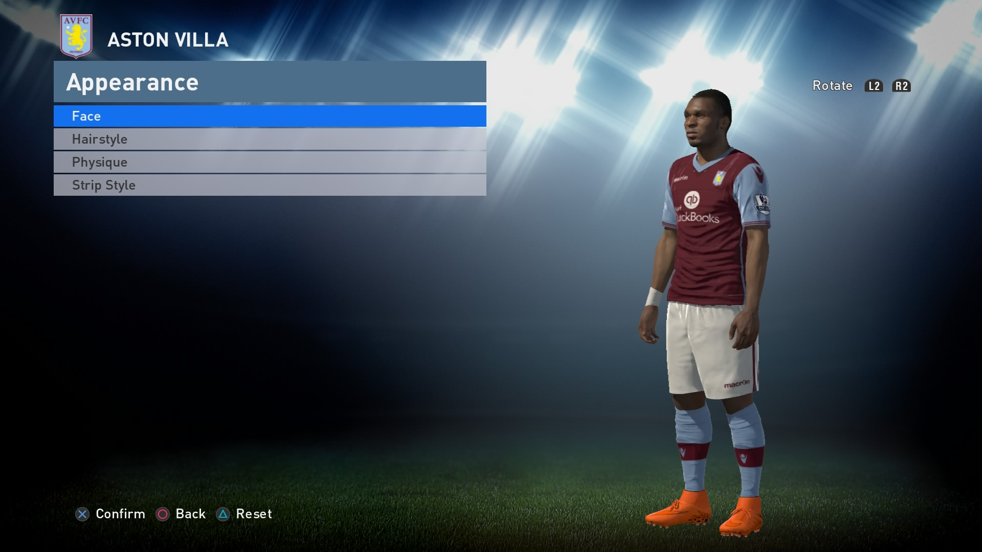 PES 2016 - Aston Villa Kit