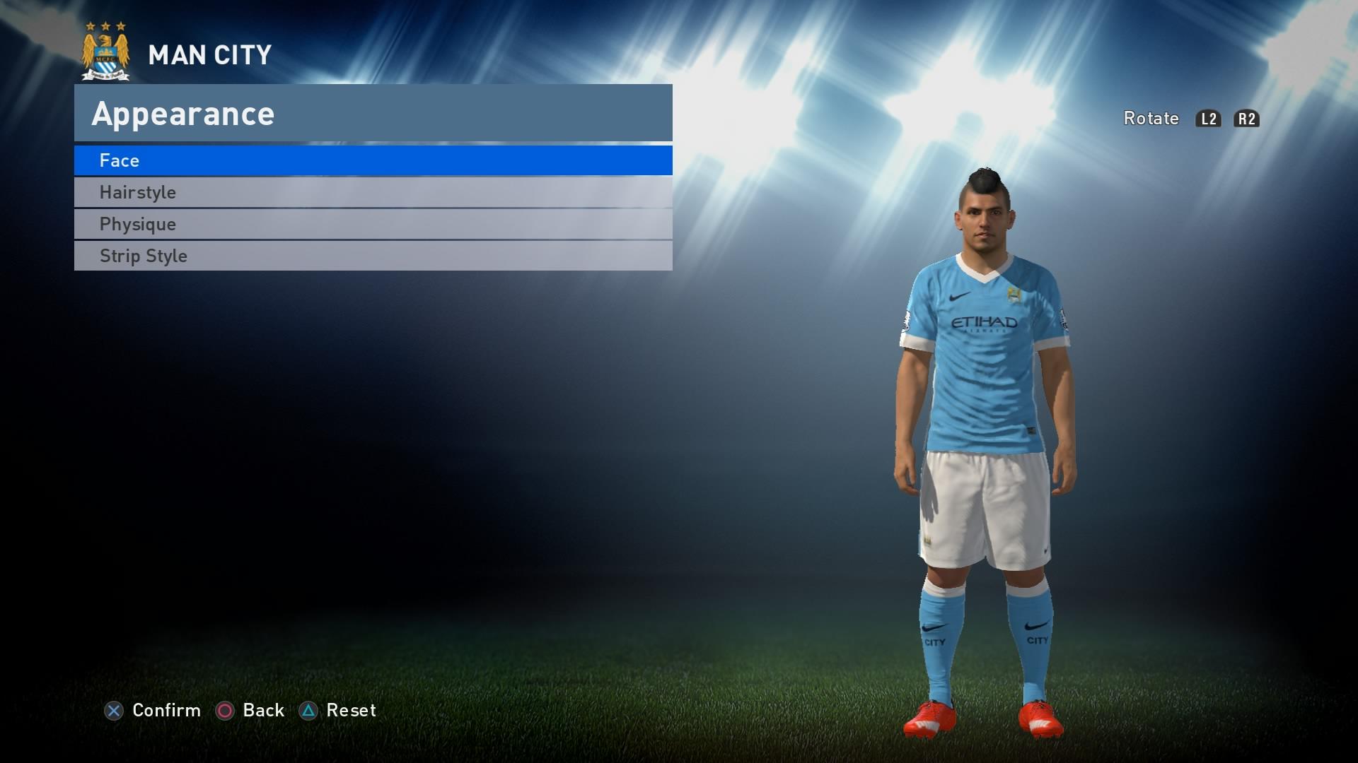 PES 2016 - Man City Kit