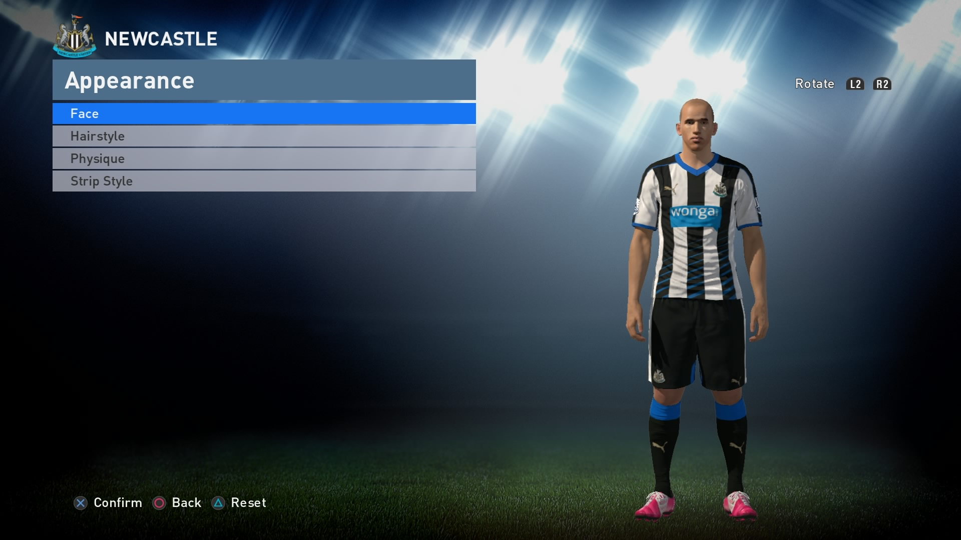 PES 2016 - Newcastle Kit