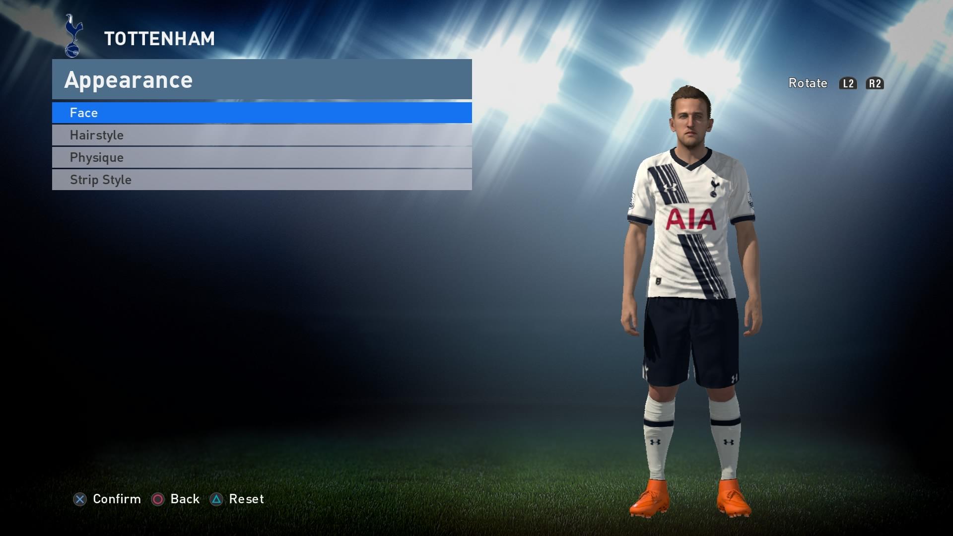 PES 2016 - Tottenham Kit