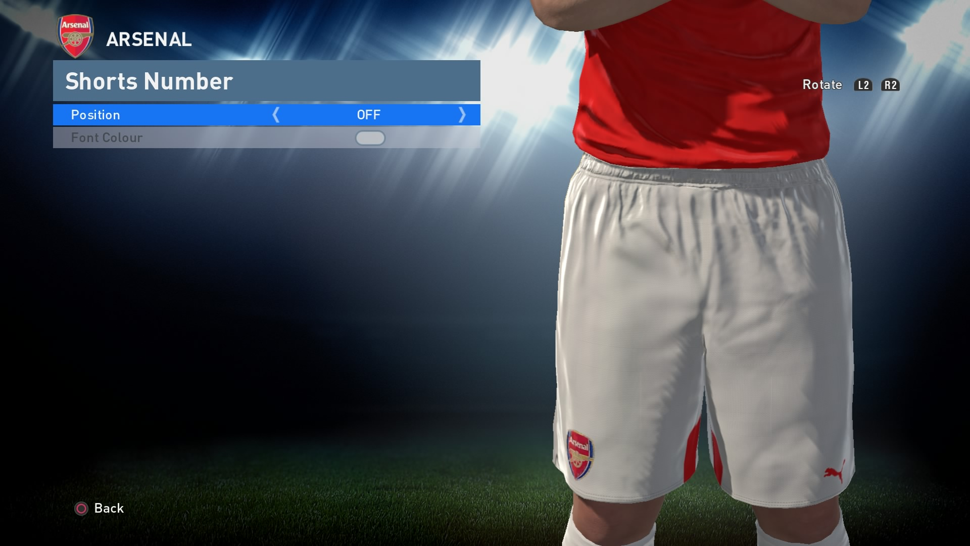 PES 2016 - Shorts Number