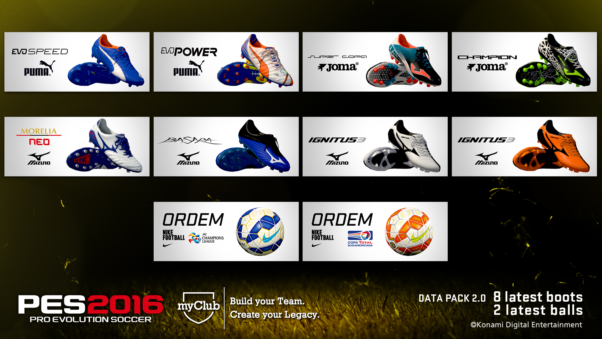 Data Pack 2 - Boots and Footballs