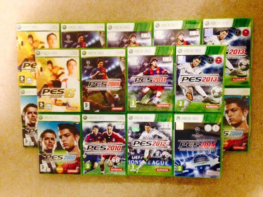 Giveaway Pes Xbox 360 Games Collection Pesmyclub