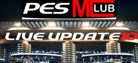 PES Live Update - Week 10