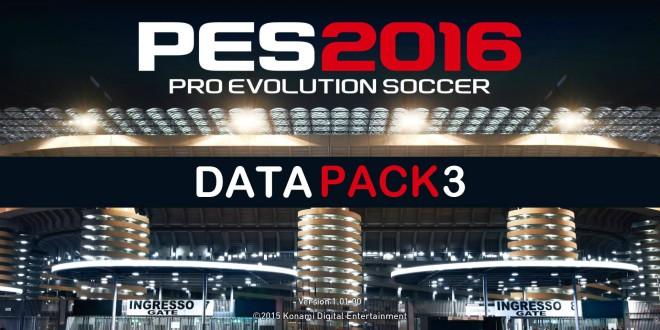 Data Pack 3 - PES 2016