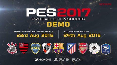 PES 2017 Demo
