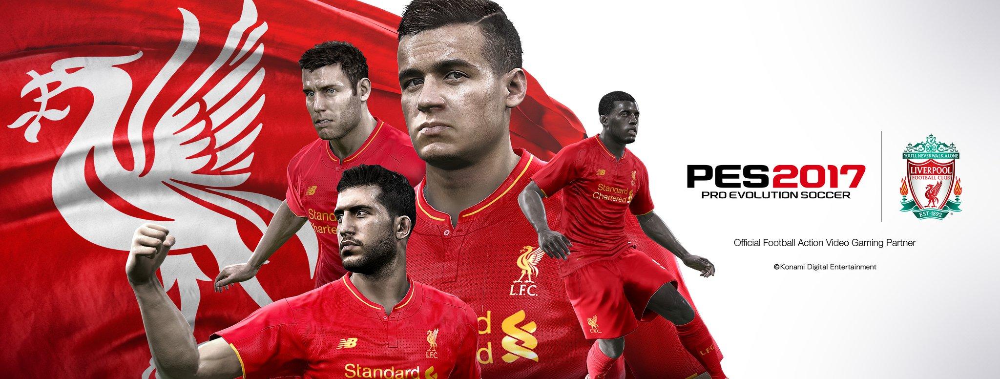 PES 2017 Details - Liverpool
