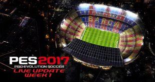 PES 2017 Live Update Week 1