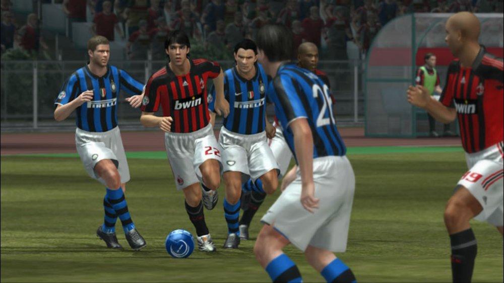 PES 2008 Screenshot AC Milan Inter