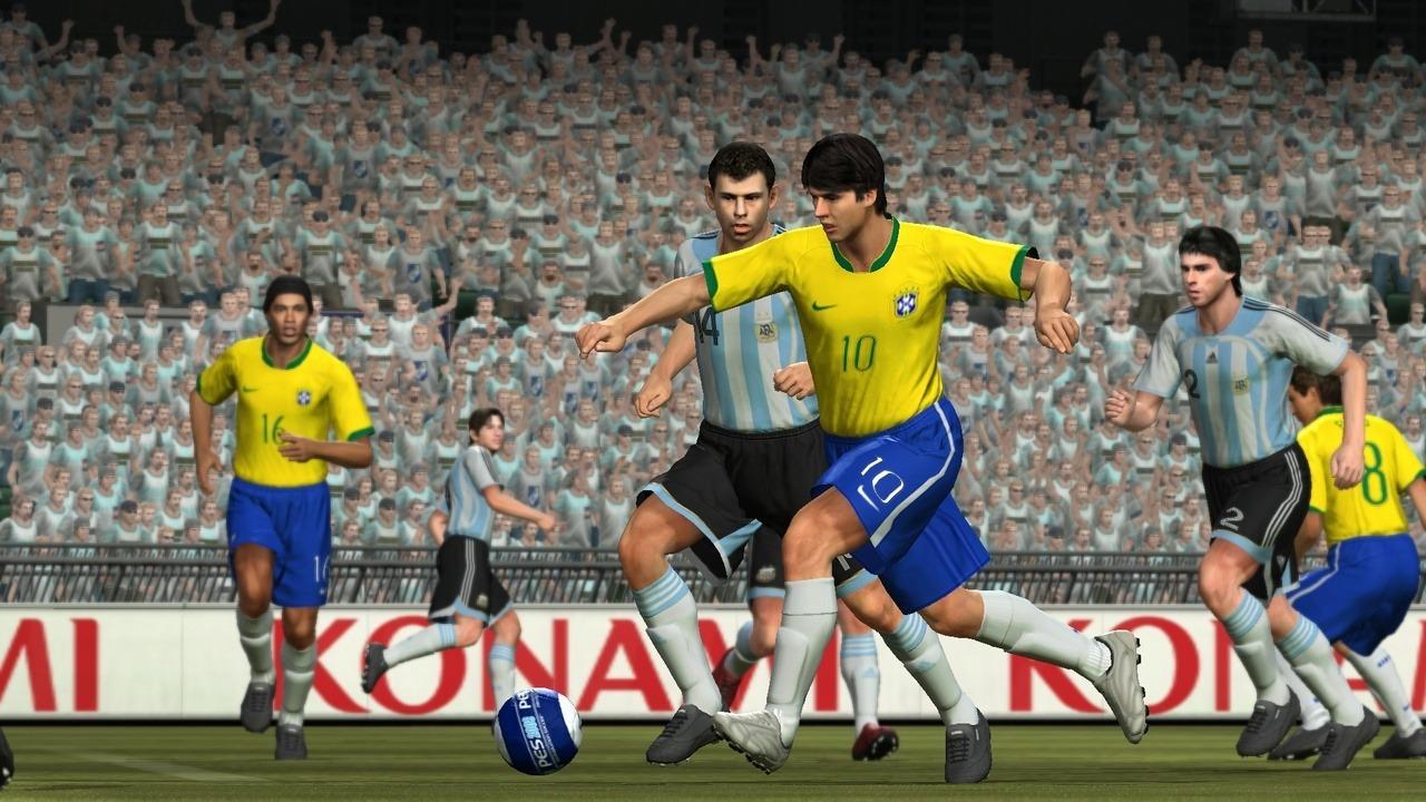 PES 2008 Screenshot Kaka