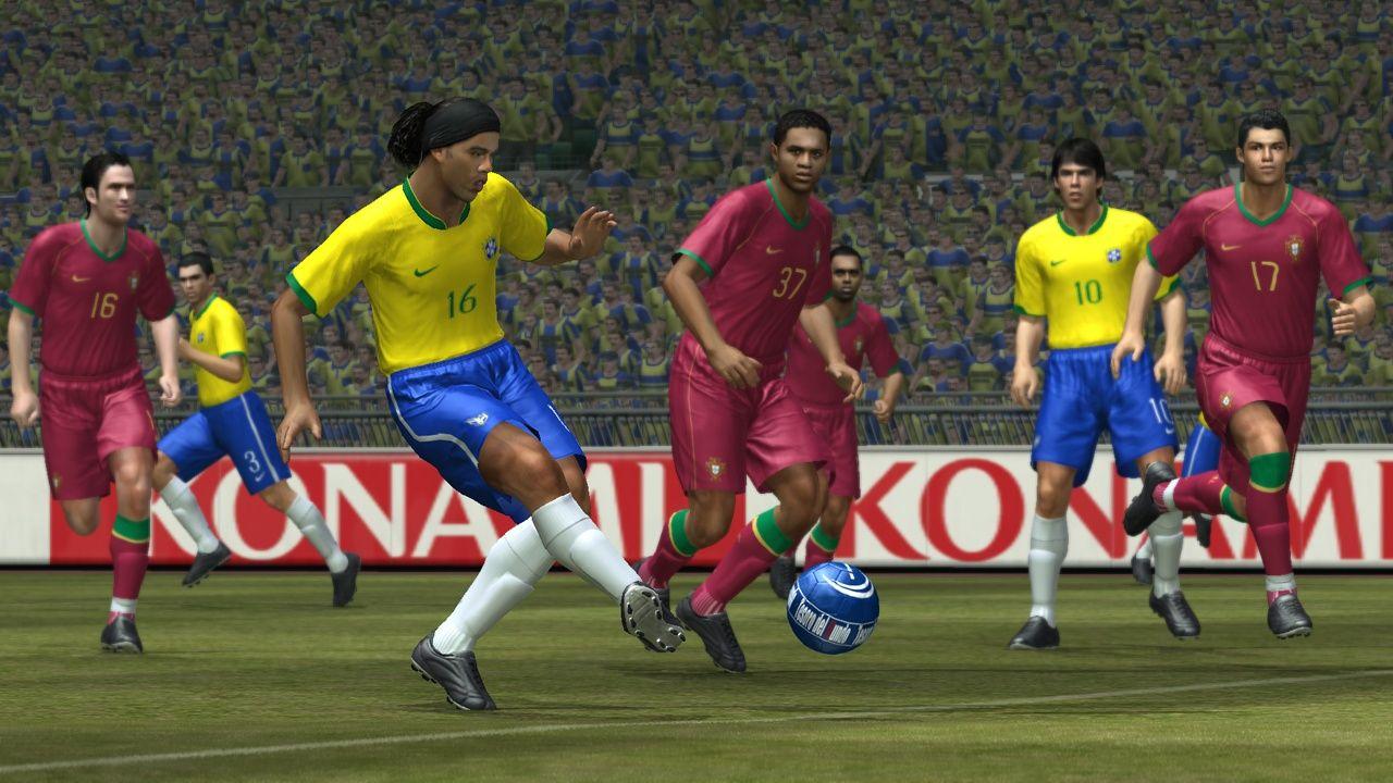 PES 2008 Screenshot Ronaldinho