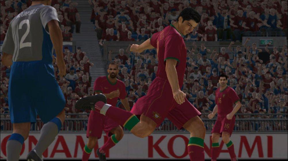 PES 2008 Screenshot Ronaldo