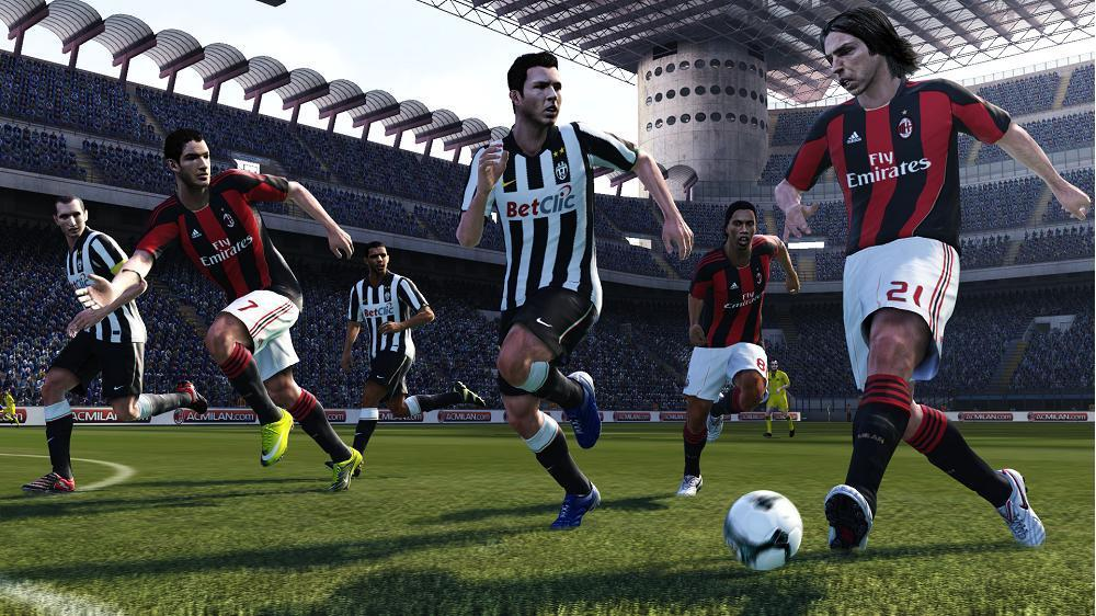 PES 2011 Screenshot AC Milan