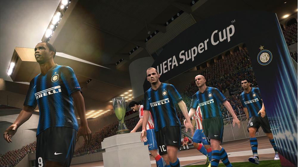 PES 2011 Screenshot Inter Milan