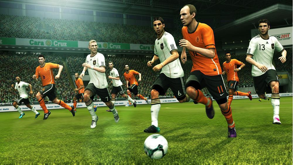 PES 2011 Screenshot Robben