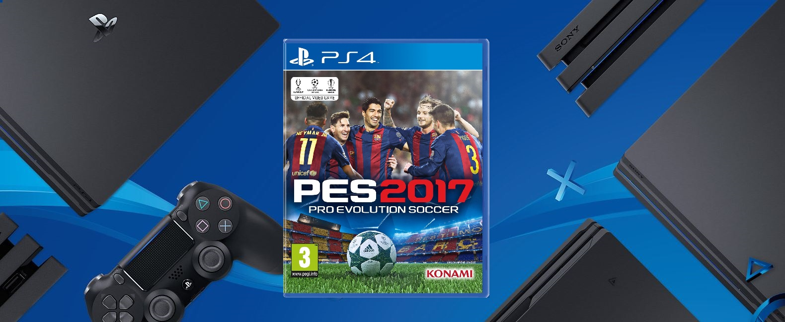 Pes 2017 To Support The Ps4 Pro And 4k Pesmyclub Sony Evolution Soccer