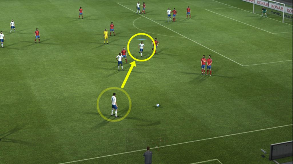 PES 2012 Screenshot Off The Ball Controls