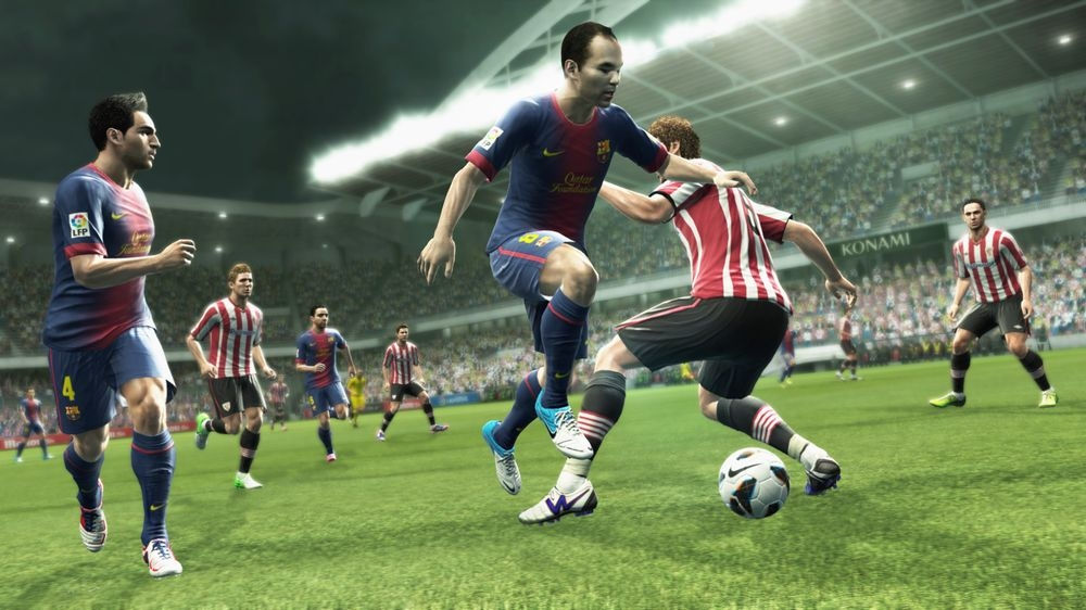PES 2013 Screenshot Barcelona