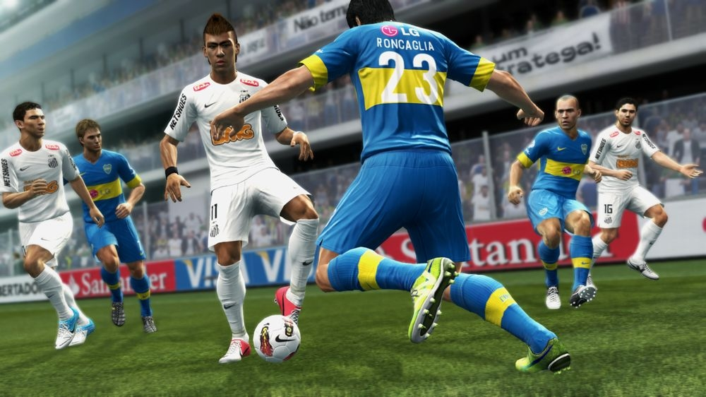 PES 2013 Screenshot Neymar