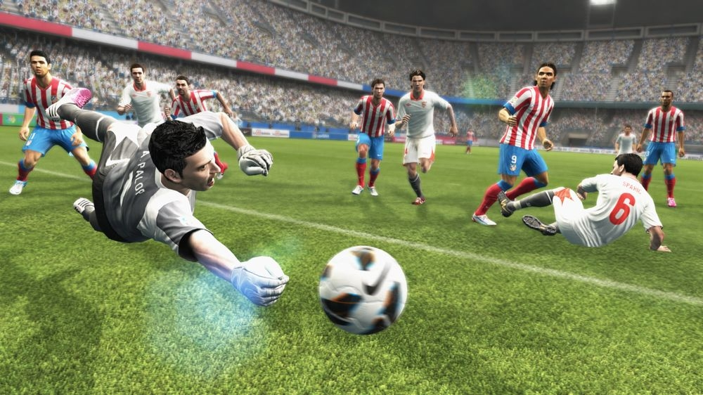 PES 2013 Screenshot Real Madrid Atletico
