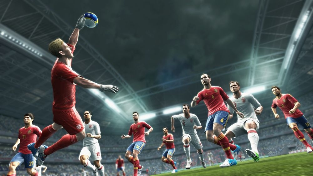 PES 2013 Screenshot Spain England
