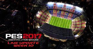 PES 2017 Live Update Week 10