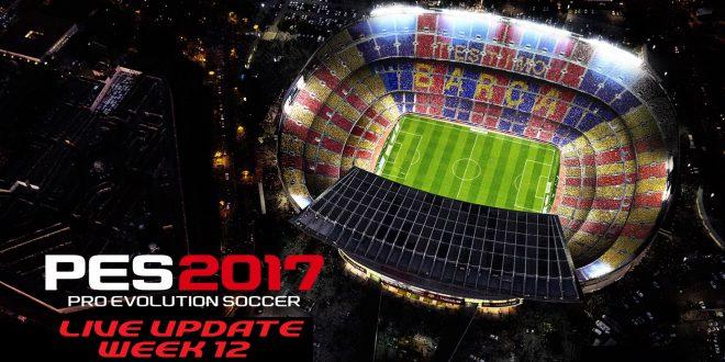 PES 2017 Live Update Week 12