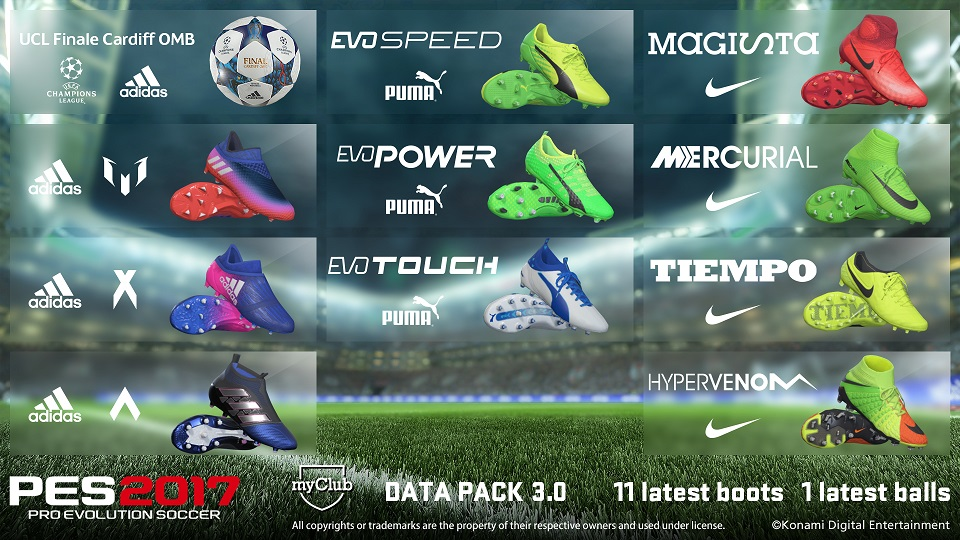 Data Pack 3 Boots