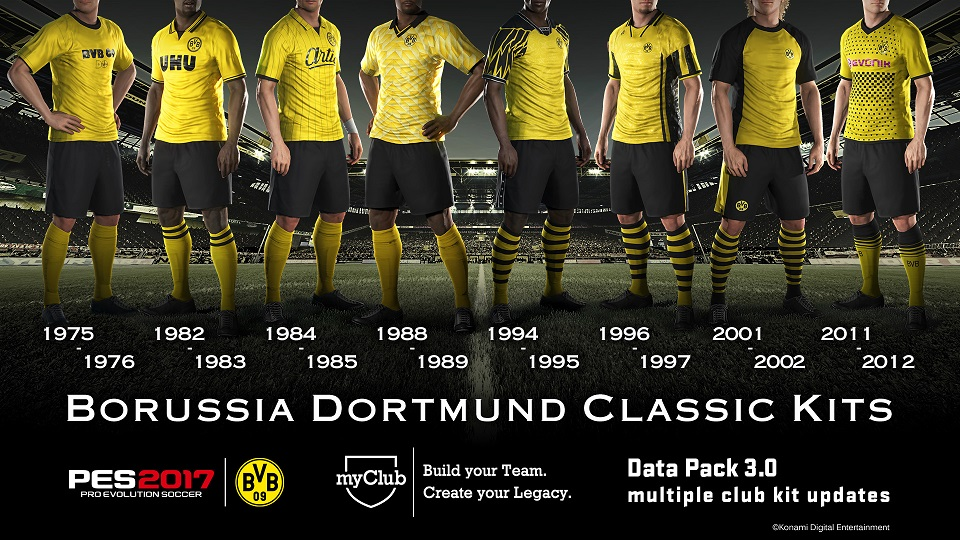 Data Pack 3 Dortmund Kits