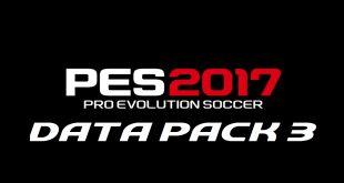 PES 2017 Data Pack 3