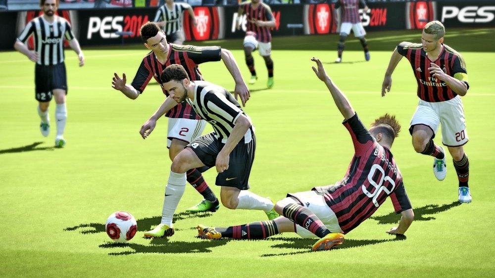 PES 2014 Screenshot Juventus AC Milan