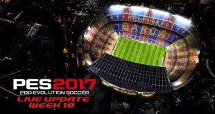 PES 2017 Live Update Week 18