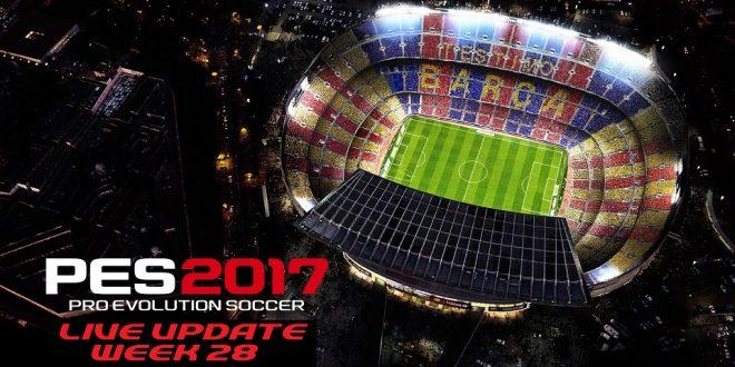 PES 2017 Live Update Week 28