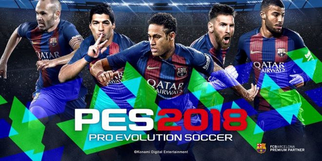 PES 2018 Announced