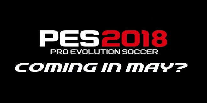 PES 2018 Reveal