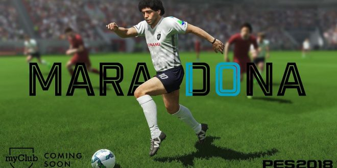 PES 2018 Details Maradona