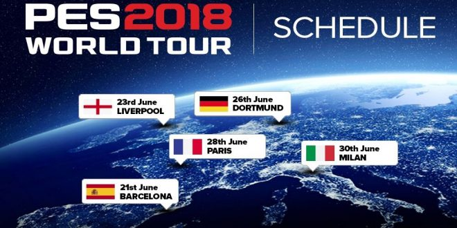 PES 2018 World Tour
