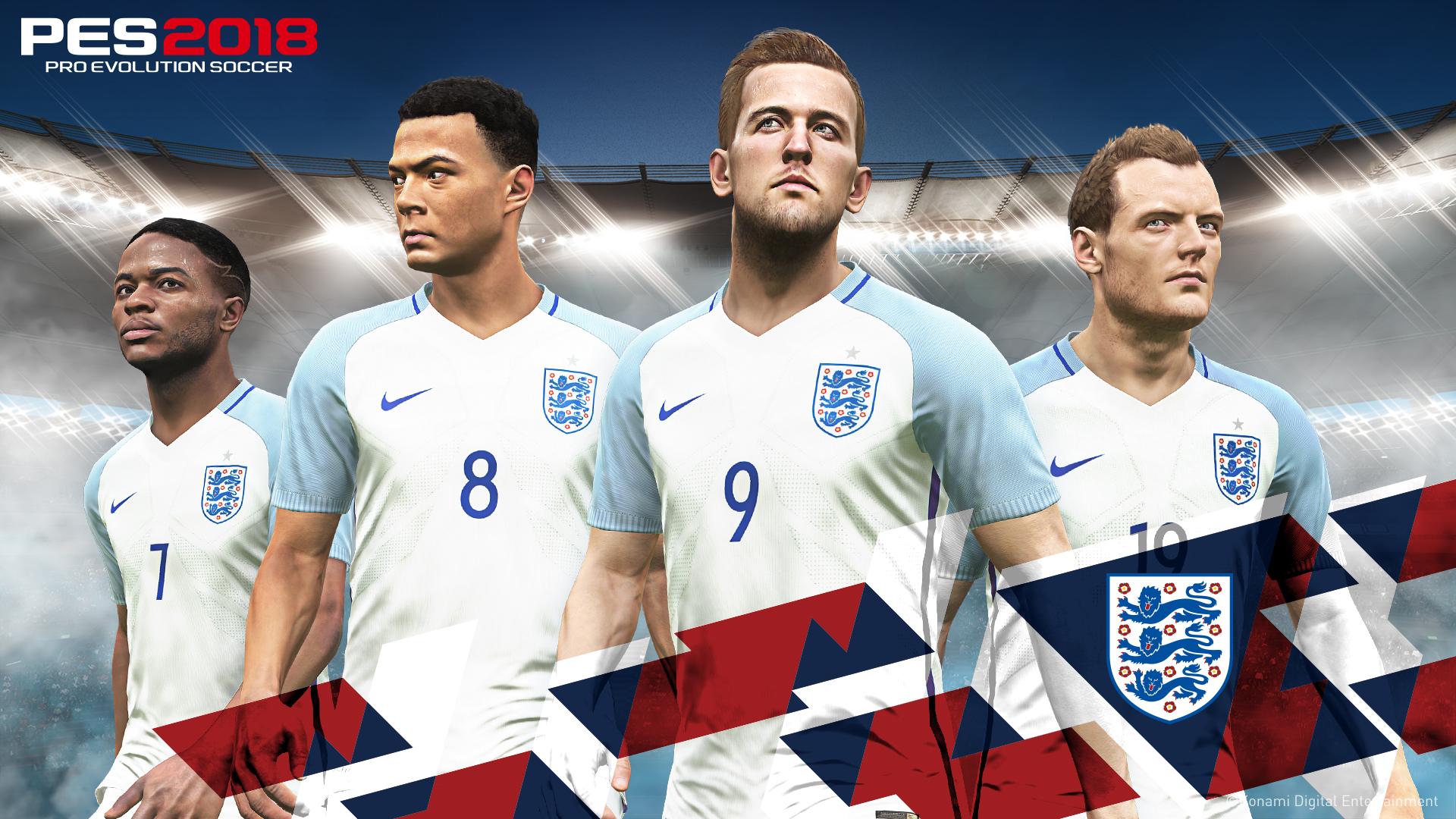 PES 2018 England