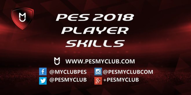 PES 2018 Player Skills