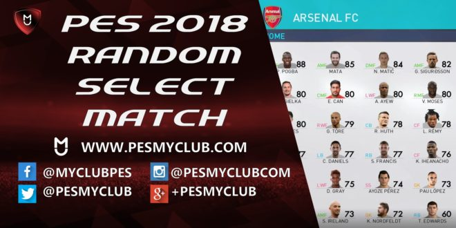 Random Select Match PES 2018
