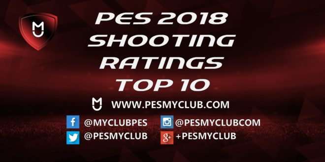 PES 2018 Shooting Ratings