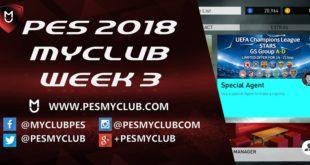 PES myClub 2018 Week 3