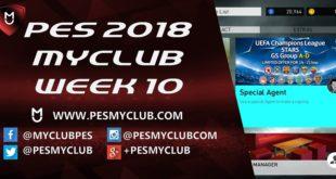 PES myClub 2018 Week 10